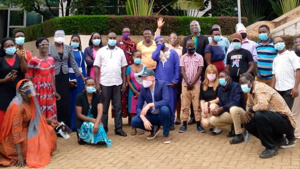 COVID-19 advocacy in Africa